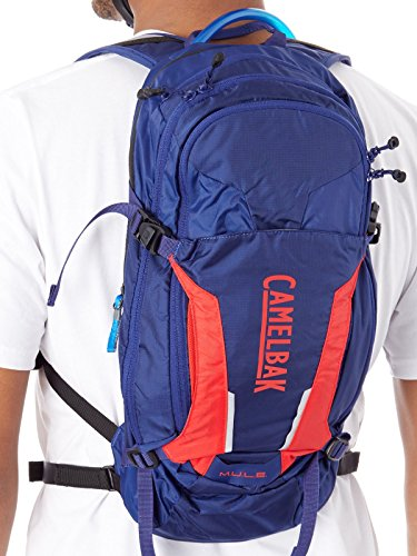 CamelBak M.U.L.E. 100 oz Hydration Pack, Pitch Blue/Racing Red by CamelBak (Image #5)