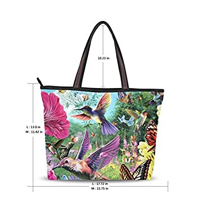 Amazon.com: Mujer bolsas de hombro asa superior bolsa grande ...