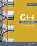 img - for C++ Programming: Program Design Including Data Structures book / textbook / text book