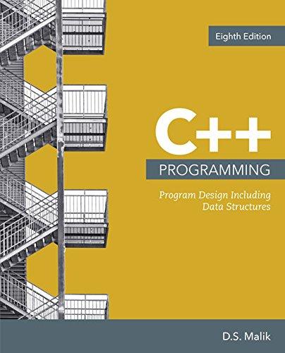 C++ Programming: Program Design Including Data Structures - Best