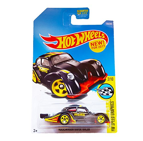 Hot Wheels 2017 HW Speed Graphics Volkswagen Kafer Racer 156/365, Black