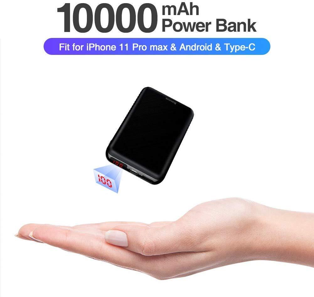 Baseus Power Bank 10000mAh, USB C