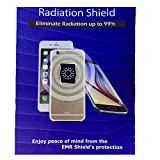 Cell Phone Anti Radiation Protection EMF Shield Sticker (Black)