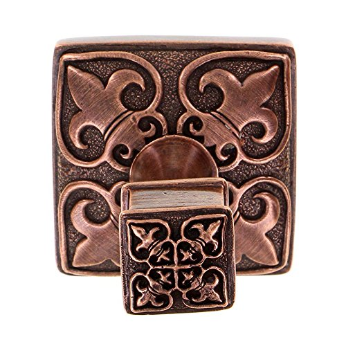 Vicenza Designs PO9013 Fleur de Lis Robe Hook, Large, Antique Copper
