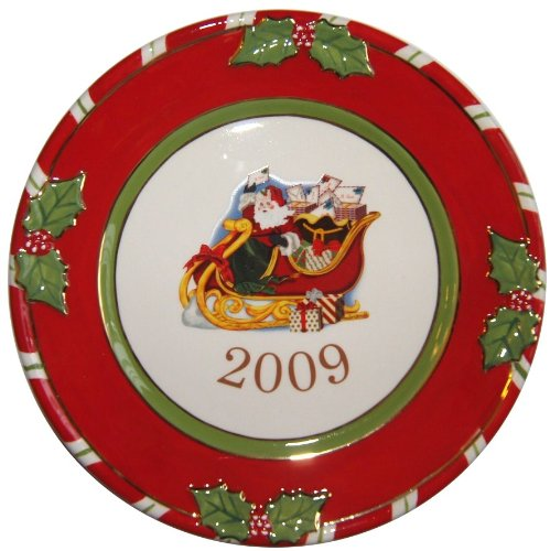 Christopher Radko - Letters to Santa 2009 Collector's Plate