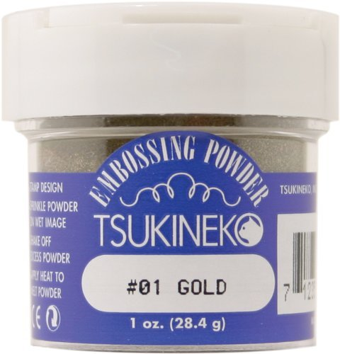 - Embossing Powder 1 ounce-Gold