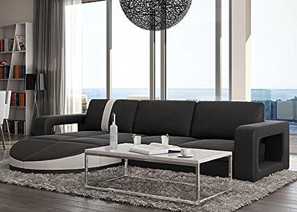 Muebles Bonitos - Sofa de diseño moderno Rosa negro con ...