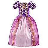 JiaDuo Girls Princess Rapunzel Dress up Party Cosplay Costumes