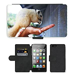 hello-mobile PU LEATHER case coque housse smartphone Flip bag Cover protection // M00136585 Pet Zoo Animal lindo Pequeño Divertido // Apple iPhone 4 4S 4G