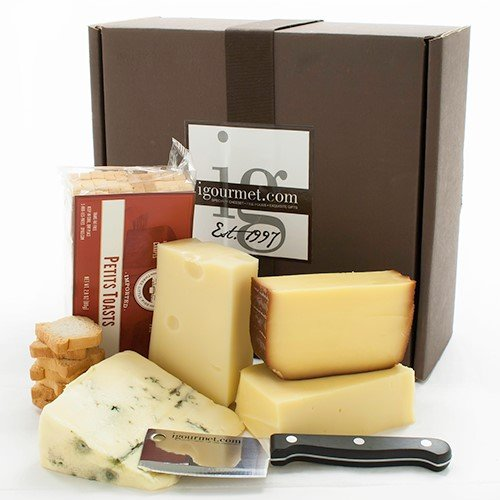 Oktoberfest Cheese Assortment in Gift Box (32.75 ounce) by igourmet
