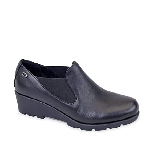 VALLEVERDE Donna Mocassino Nero 36403 Scarpe in Pelle Autunno Inverno 2019  EU 35  Amazon.it  Scarpe e borse 8d5156d6328