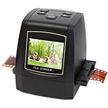 DIGITNOW 22MP All In 1 Slide, Film and Negative Scanner with Speed Load Adapters for 35mm, 110, 126 Slides/Negatives,Super 8 Films
