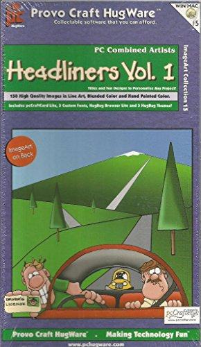 Headliner Vol. 1 Clip-Art CD-Rom Hugware ImageArt Collection 15