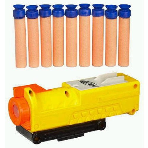 Nerf N-Strike Mission Kit with Tactical Light and Ten Micro Darts fits Longshot, Maverick, Recon, Nite Finder, and more Nerf Nite Finder