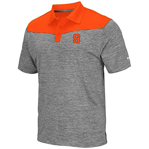 promo code e4f61 cb899 Mens Syracuse Orange Polo Shirt - L