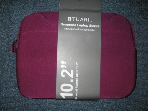 Tuari Neoprene Laptop Sleeve 10.2 BERRY - Berry Sprinkles