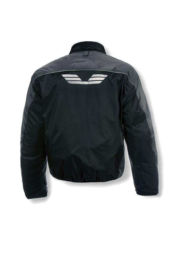 Olympia Moto Sports MJ410 Men's Airglide 5 Mesh Tech Jacket (Slate/Black, X-Large)