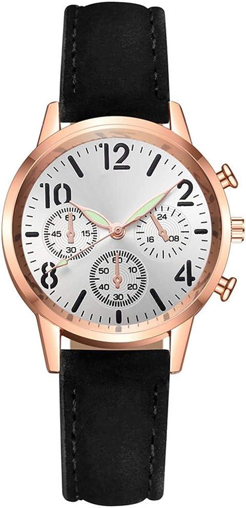 Relojes de pulsera para mujer de gama alta reloj de cuarzo esfera luminosa reloj de ocio regalos de Navidad regalos de San Valentín regalos