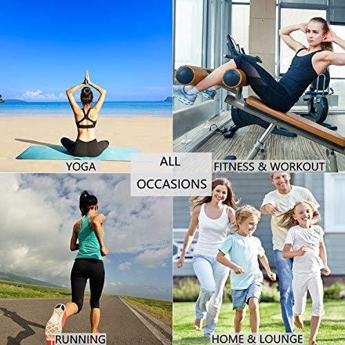 Hibelle Womens Scoop Neck Cute Racerback Yoga Workout Tank Top