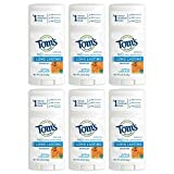 Tom's of Maine Natural Care Natural Deodorant Stick, Calendula, 2.25 oz (64 g) (Pack of 6)