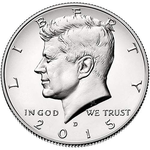 2015-P+D BOTH UNCIRCULATED KENNEDY HALF DOLLARS IN ORIGINAL SEALED MINT HOLDERS