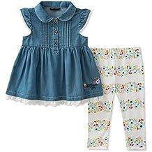 Tommy Hilfiger Baby Girls Leggings Set