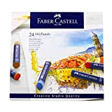 Faber-Castel FC127024 Creative Studio Oil Pastel Crayons (24 Pack), Assorted