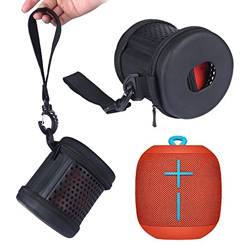 LuckyNV 2018 Nueva EVA + PU de Cuero Carry Zipper Sleeve Estuche Protector de Tapa Dura portátil para Ultimate Ears UE...