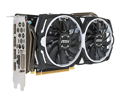MSI TWIN FROZR VI - Built-in Cleaning System - Graphics Card RADEON RX 570 ARMOR 4G OC