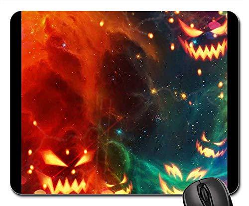 Mouse Pads - Halloween October Pumpkin Grussellich Bright Fun