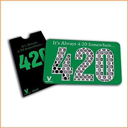 Tarjeta Moledora / Grinder Plano The V Syndicate (420 Herb ...