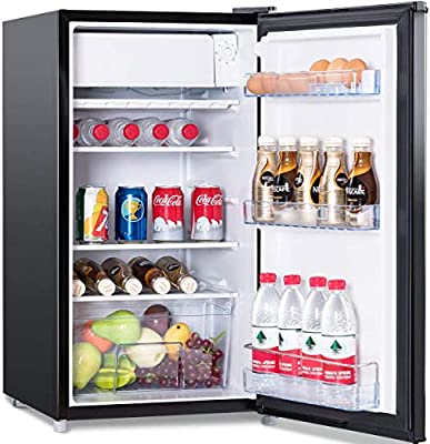 costway frigorífico congelador 91 liters mini-frigo energétique ...