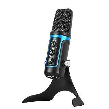 Micrófono De Condensador USB, Antirruido De Orientación Cardioide ...