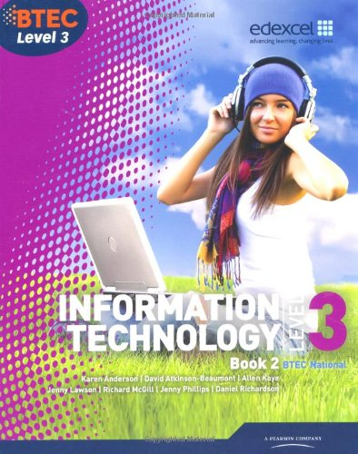 Best BTEC Level 3 National IT Student Book 2 (BTEC National for IT Practitioners) RAR