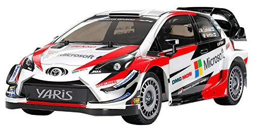 タミヤ 1/10 XBシリーズ No.203 XB トヨタ ガズー レーシング WRT/ヤリス WRC TT-02シャーシ プロポ付き塗装済み完成モデル オンロード 57903 B07G5FJ4ZN