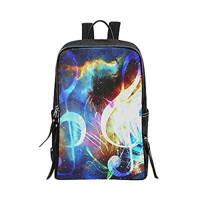 78571c1992d5 lovely InterestPrint Unisex School Bag Casual Backpack Funny Musical  Instrumet Music Theme 15 Inch Laptop Bag