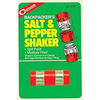 Coghlans-Backpackers Salt & Pepper Shaker