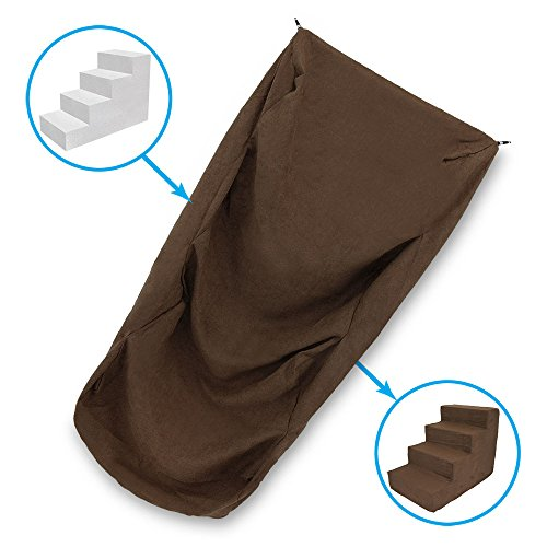 Best Pet Supplies 4-Step COVER ONLY for Foam Stairs/Steps -