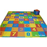 Amazon Com Uppercase And Lowercase 72 Sq Ft We Sell