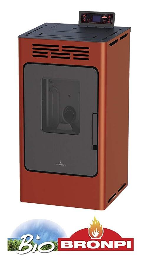 ESTUFA DE PELLET 9 KW MODELO KIRA (COOPER): Amazon.es: Bricolaje y herramientas