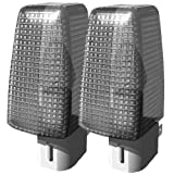 STANLEY 32101 Night Light with On/Off Switch, 2-Pack