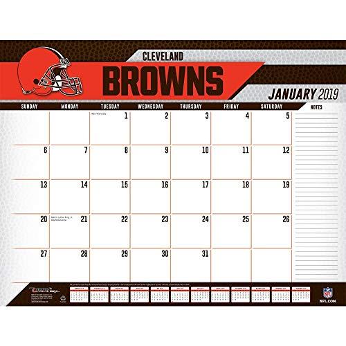 Turner Licensing Cleveland Browns 2019 Desk Calendar (19998061533)