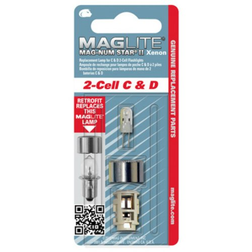 Mag Lite LMXA201 MAG LITE IT Xenon Replacement Bulb