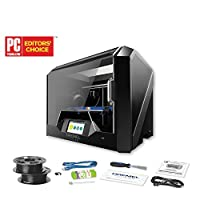 Dremel Digilab 3D45 3D Printer, Idea Builder with heated build plate to print Nylon, ECO ABS, PETG, PLA at 50 micron resolution