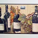 Wine and Grapes Wallpaper Border By Village