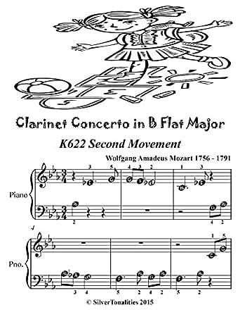 Amazoncom Clarinet Concerto In B Flat K622 2nd Movement