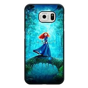 Samsung Galaxy S6 Edge Case, Customized Disney Brave Princess Merida Black Hard Shell Samsung Galaxy S6 Edge Case, Brave Galaxy S6 Edge Case(Only Fit for Galaxy S6 Edge) Kimberly Kurzendoerfer