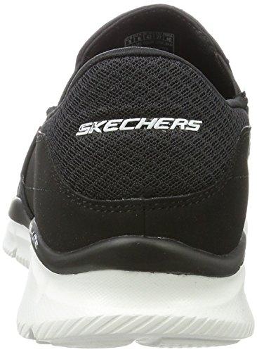 Skechers White Persistent Nero Black da Scarpe Uomo Equalizer Ginnastica r4BRwrq