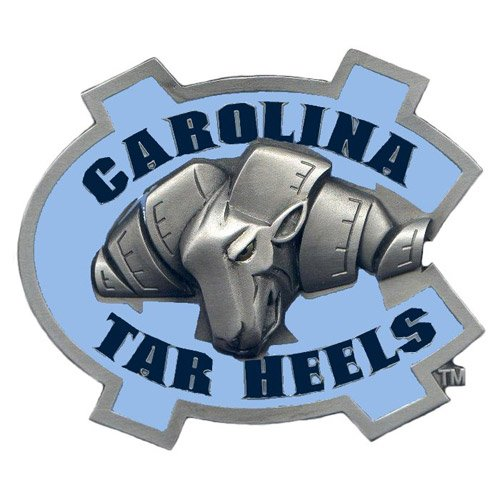 NCAA North Carolina Tar Heels Logo Hitch Cover Class II & III ()