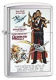 Zippo Lighter: James Bond 007 Octopussy - Brushed Chrome 79347